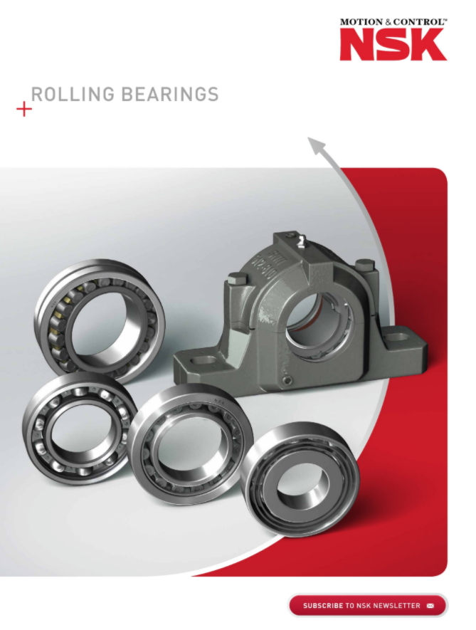 NSK Rolling Bearings Catalogue