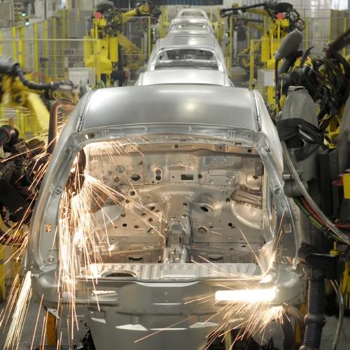 Otomotiv Üretim Hattı